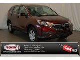 2015 Basque Red Pearl II Honda CR-V LX #99862506