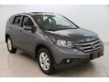 2012 Polished Metal Metallic Honda CR-V EX 4WD #99862914