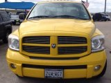 2007 Detonator Yellow Dodge Ram 1500 Sport Quad Cab #99902463