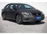 2015 Urban Titanium Metallic Honda Civic EX Sedan #99902419