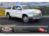 2015 Super White Toyota Tundra 1794 Edition CrewMax 4x4 #99902329