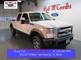 2015 White Platinum Ford F250 Super Duty King Ranch Crew Cab 4x4 #99902363