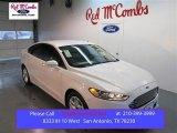2015 White Platinum Metallic Ford Fusion SE #99902361