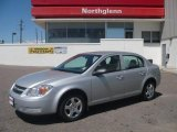 2007 Ultra Silver Metallic Chevrolet Cobalt LS Sedan #9959473
