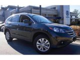 2013 Kona Coffee Metallic Honda CR-V EX-L AWD #99902385