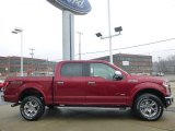 2015 Ruby Red Metallic Ford F150 Lariat SuperCrew 4x4 #99929348