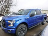 2015 Blue Flame Metallic Ford F150 XLT SuperCrew 4x4 #99929347