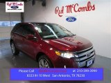2014 Ruby Red Ford Edge Limited #99929331