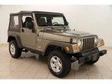 2006 Light Khaki Metallic Jeep Wrangler X 4x4 #99929555