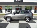 2015 Titanium Silver Kia Sorento LX #99929537