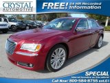 2012 Deep Cherry Red Crystal Pearl Chrysler 300 C #99929594