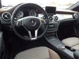 2015 Mercedes-Benz GLA 250 4Matic Brown Interior