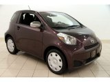 2012 Black Currant Metallic Scion iQ  #99960079