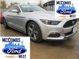 2015 Ingot Silver Metallic Ford Mustang V6 Coupe #99987769