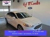 2015 White Platinum Metallic Ford Fusion SE #99987767