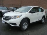 2015 White Diamond Pearl Honda CR-V LX AWD #99988165