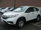 2015 White Diamond Pearl Honda CR-V LX AWD #99988164