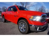 Flame Red Ram 1500 in 2015