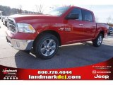 2015 Flame Red Ram 1500 Big Horn Crew Cab #99987852