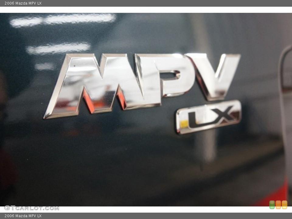 2006 Mazda MPV Badges and Logos