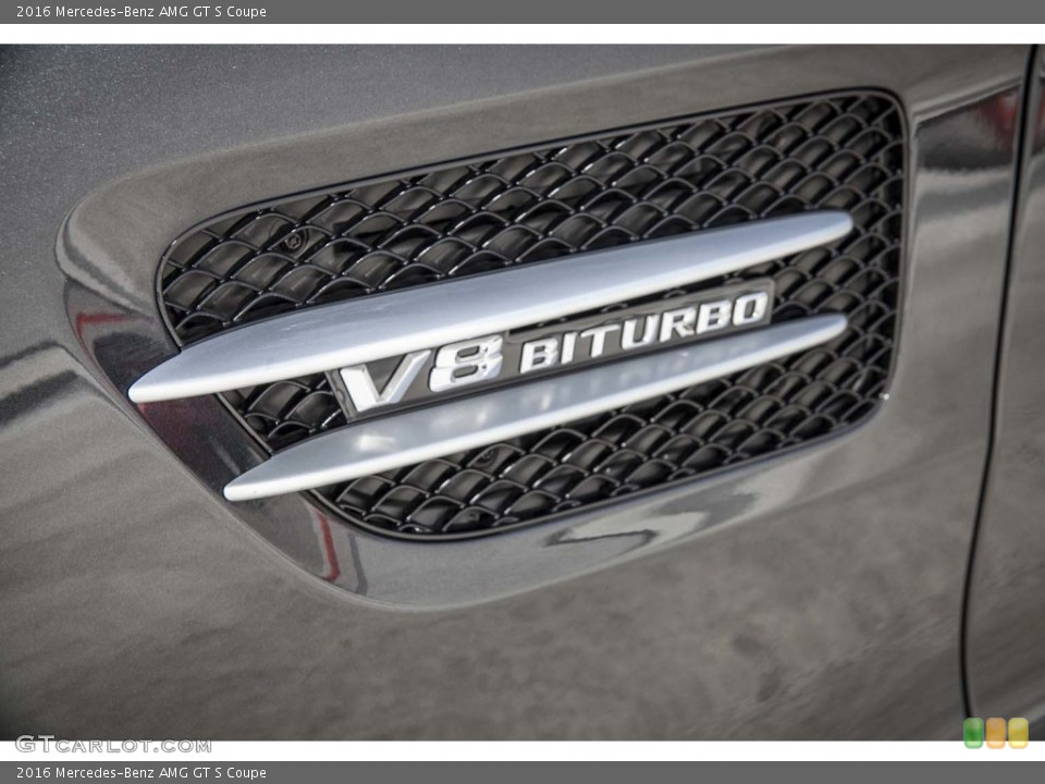 2016 Mercedes-Benz AMG GT S Custom Badge and Logo Photo #103583835