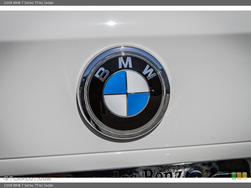 2008 BMW 7 Series Badges and Logos