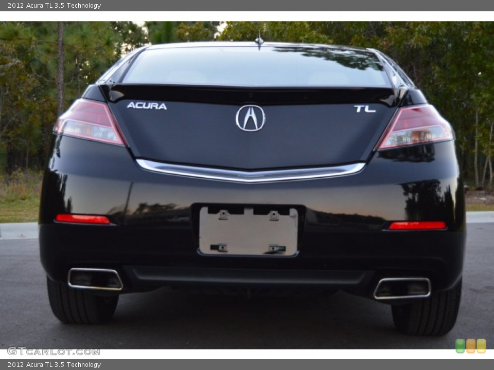 2012 Acura TL Badges and Logos