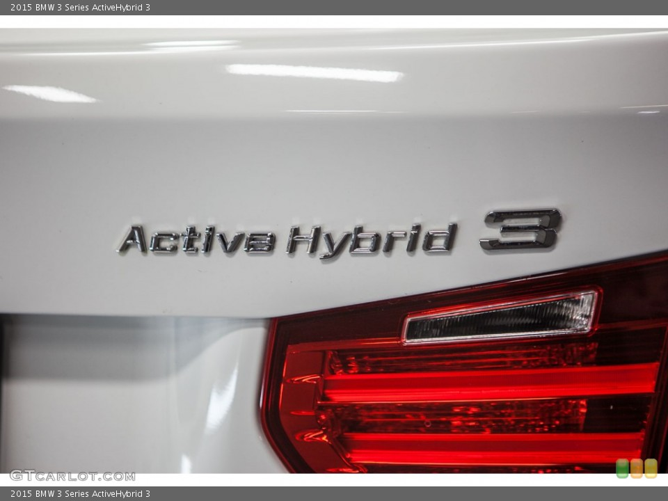 2015 BMW 3 Series Badges and Logos