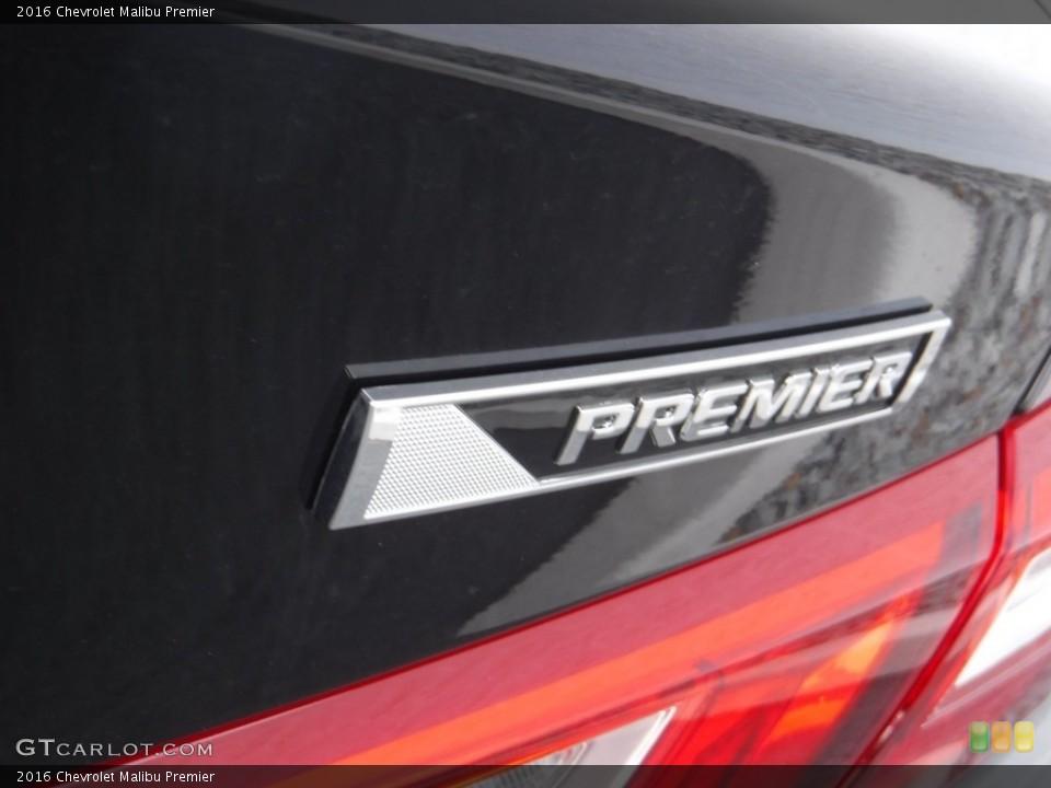 2016 Chevrolet Malibu Badges and Logos