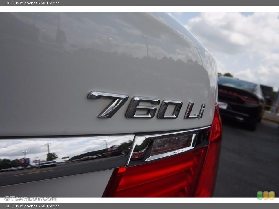 2010 BMW 7 Series Custom Badge and Logo Photo #112671504
