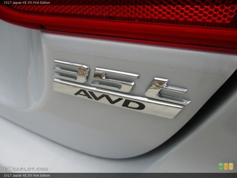 2017 Jaguar XE Badges and Logos