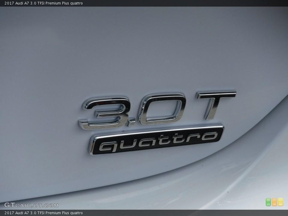 2017 Audi A7 Badges and Logos