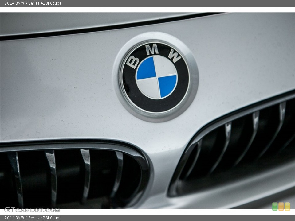 2014 BMW 4 Series Badges and Logos