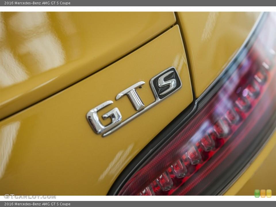 2016 Mercedes-Benz AMG GT S Custom Badge and Logo Photo #115628262