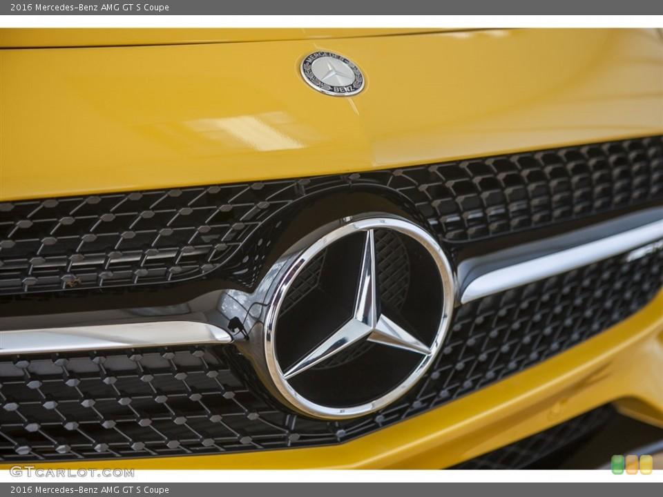 2016 Mercedes-Benz AMG GT S Custom Badge and Logo Photo #115628646