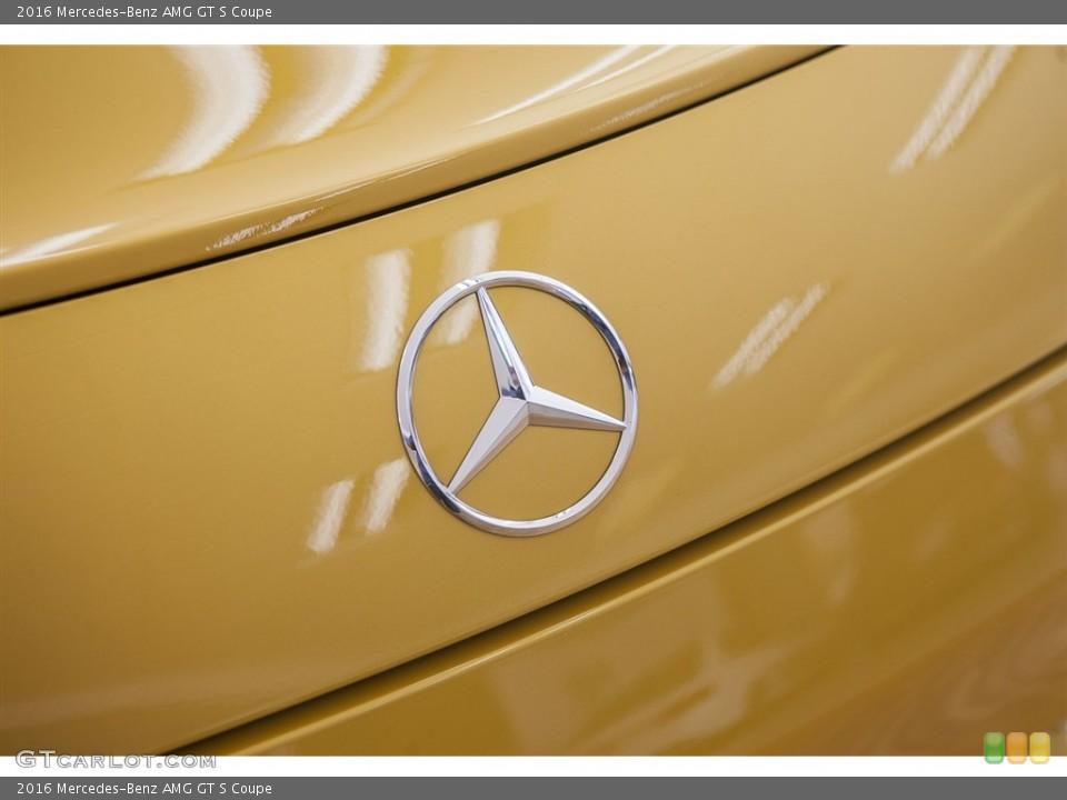 2016 Mercedes-Benz AMG GT S Custom Badge and Logo Photo #115628679
