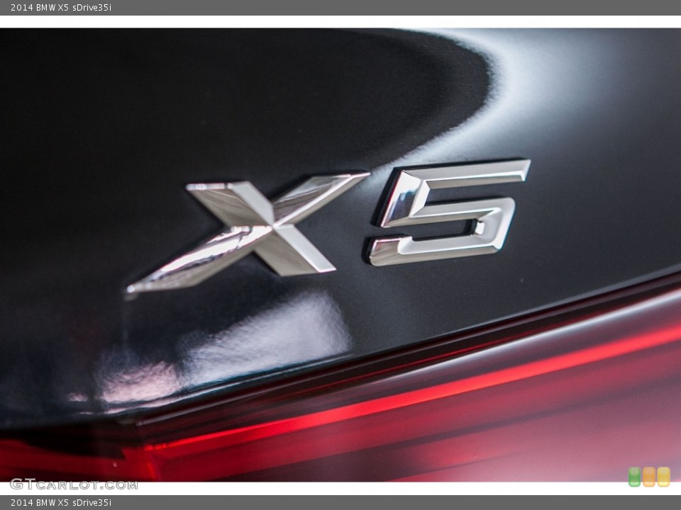 2014 BMW X5 Badges and Logos