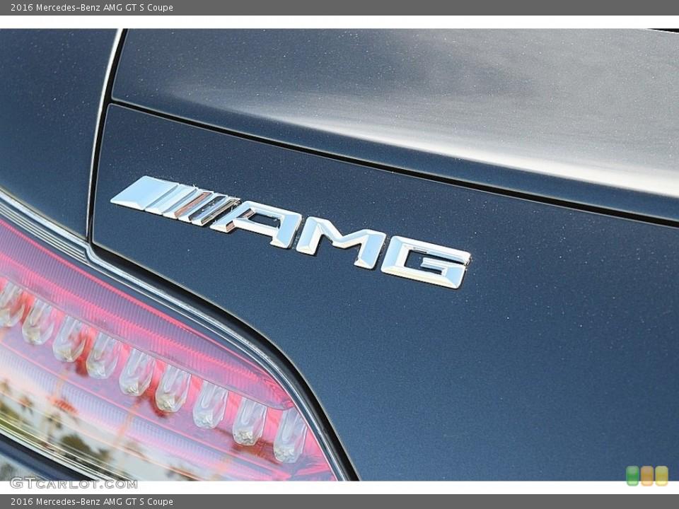2016 Mercedes-Benz AMG GT S Custom Badge and Logo Photo #117844201