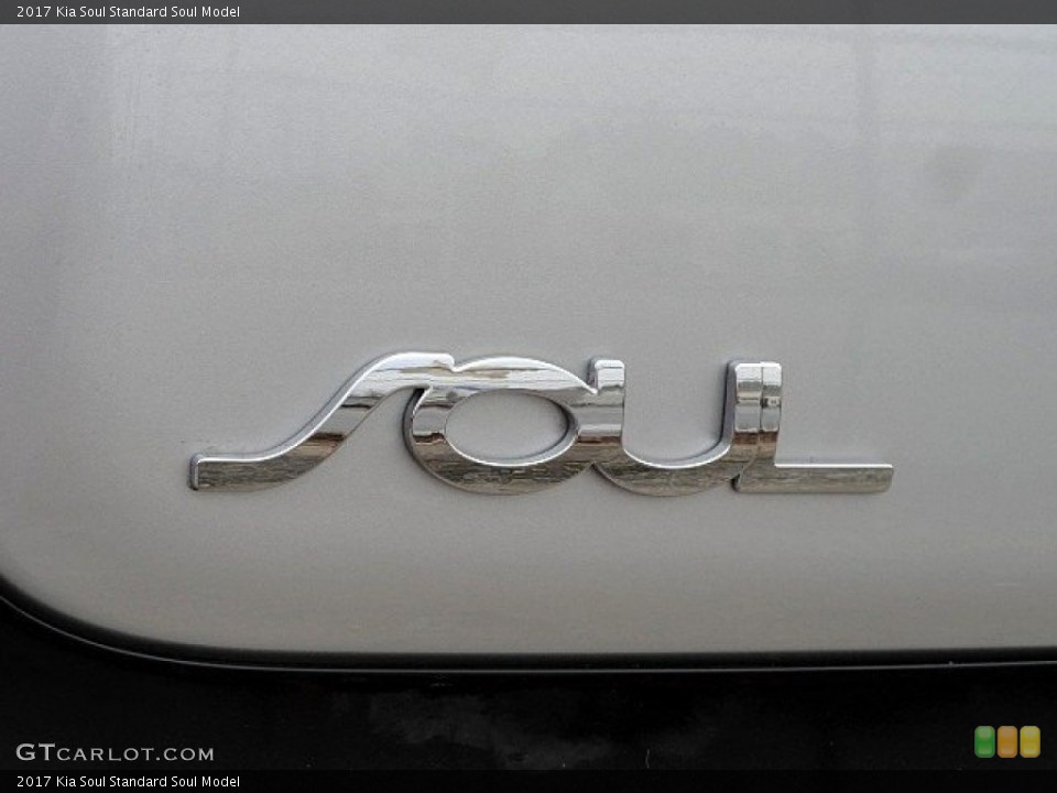 2017 Kia Soul Badges and Logos