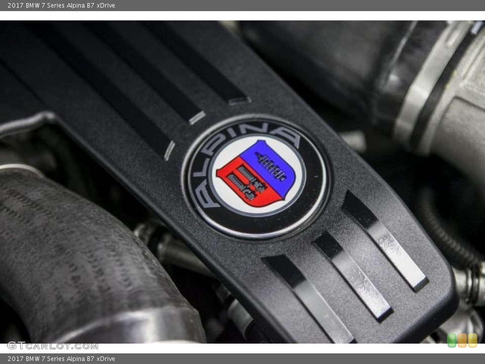 2017 BMW 7 Series Badges and Logos