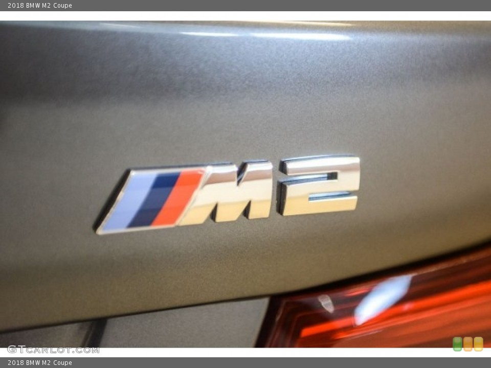 2018 BMW M2 Badges and Logos