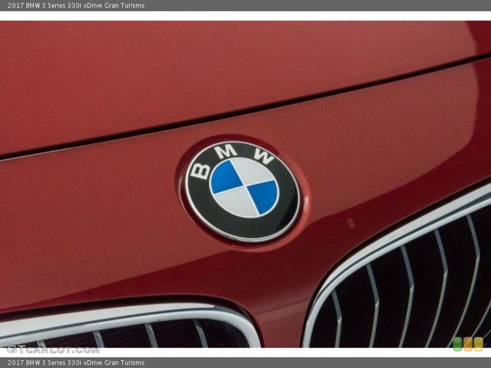 2017 BMW 3 Series Badges and Logos