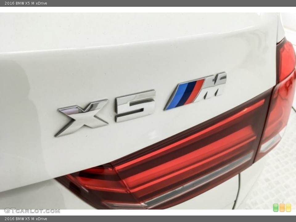 2016 BMW X5 M Badges and Logos