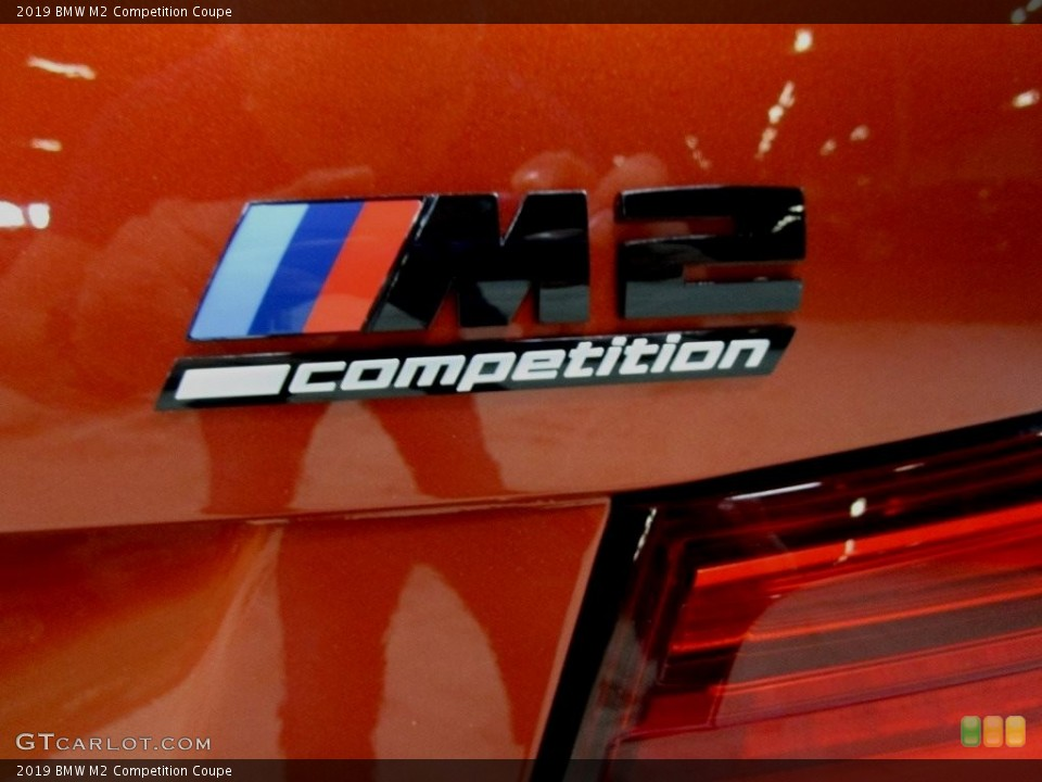 2019 BMW M2 Badges and Logos