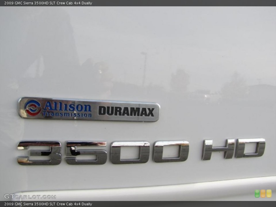2009 GMC Sierra 3500HD Custom Badge and Logo Photo #38614822