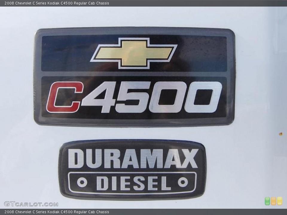 2008 Chevrolet C Series Kodiak Badges and Logos