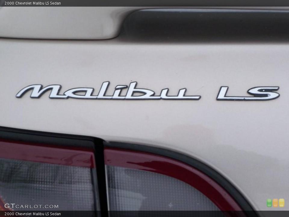 2000 Chevrolet Malibu Badges and Logos
