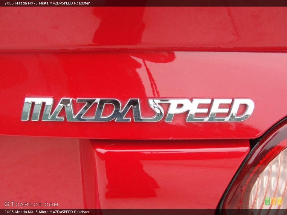 2005 Mazda MX-5 Miata Badges and Logos