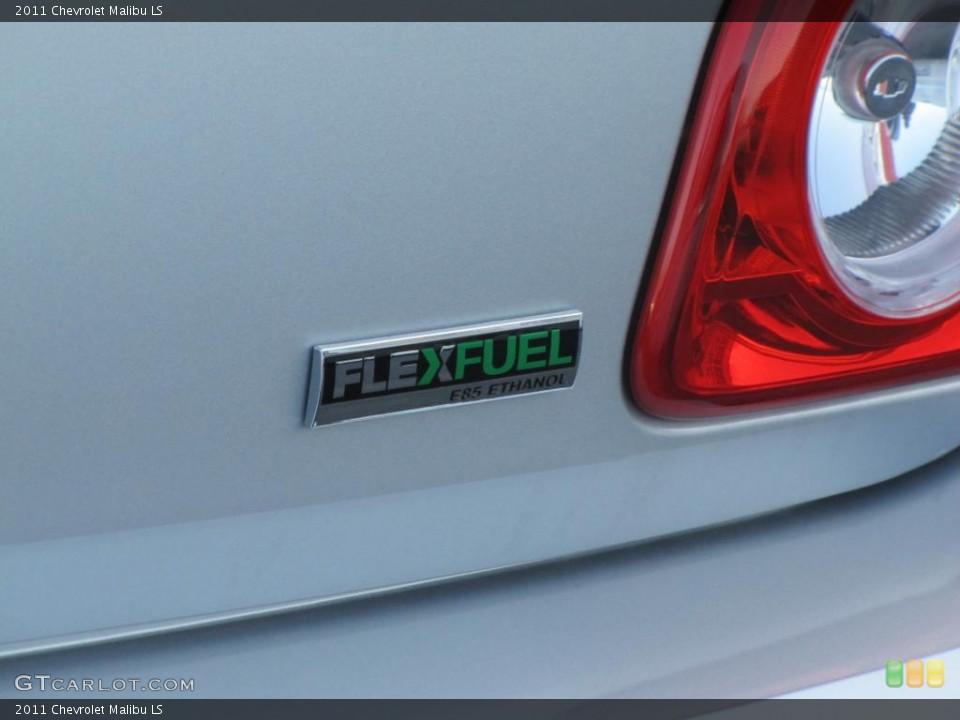 2011 Chevrolet Malibu Badges and Logos