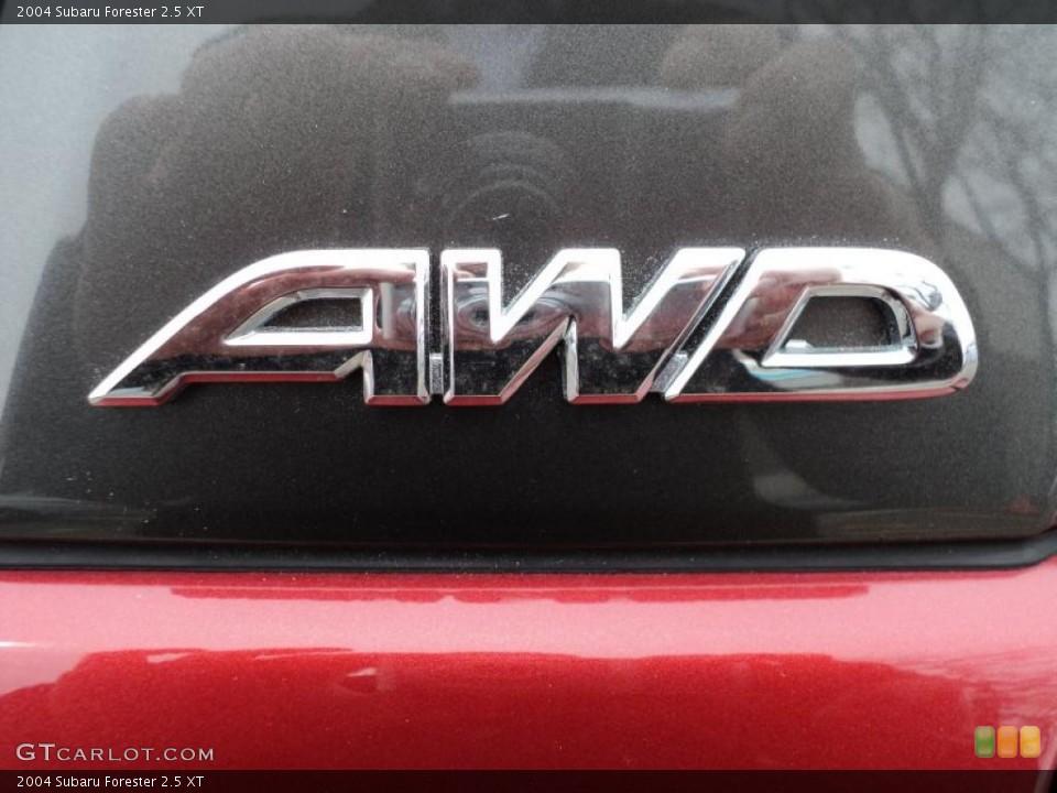 2004 Subaru Forester Badges and Logos